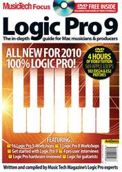 MusicTech Focus : Logic Pro 9 issue Logic Pro 9