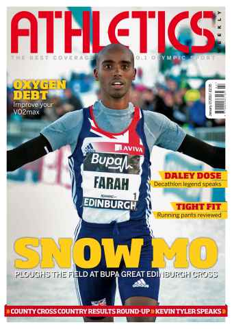 Athletics Weekly issue AW Jan 13 2011