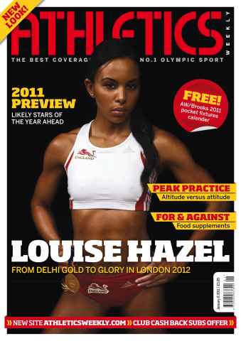 Athletics Weekly issue AW Jan 6 2011