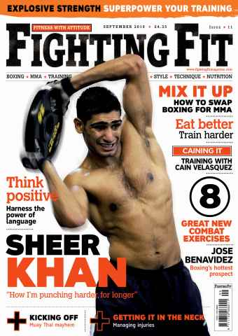 Fighting Fit issue September 2010