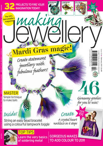 Making Jewellery issue February 2011