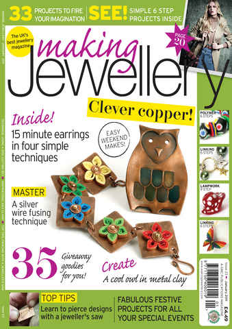 Making Jewellery issue January 2011
