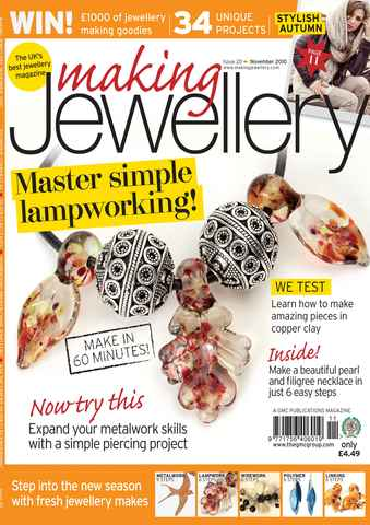 Making Jewellery issue November 2010