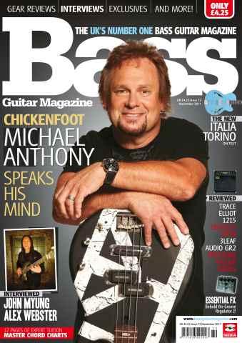 Bass Guitar issue 72 November 2011