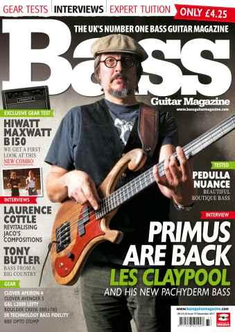 Bass Guitar issue 73 December 2011