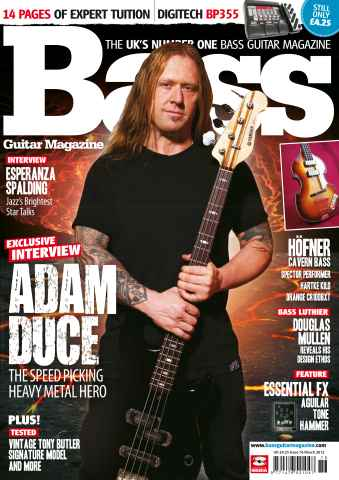 Bass Guitar issue 76 March 2012