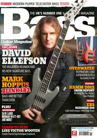 Bass Guitar issue 77 April 2012
