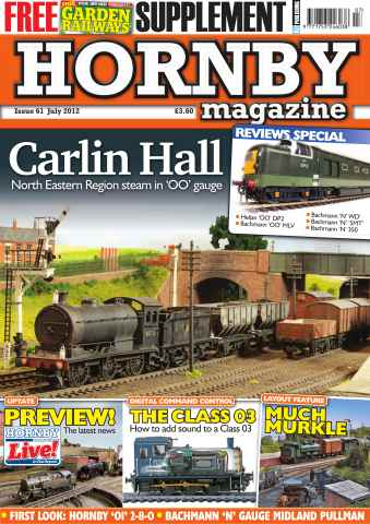 Hornby Magazine issue July 2012