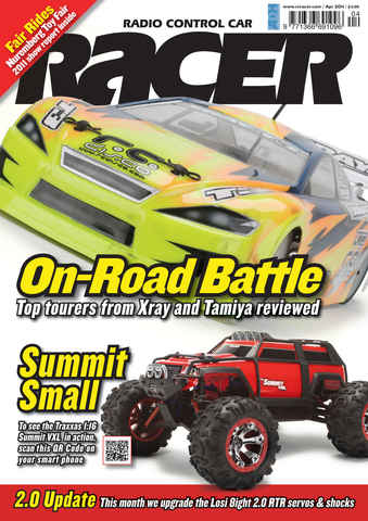 Radio Control Car Racer issue April 2011