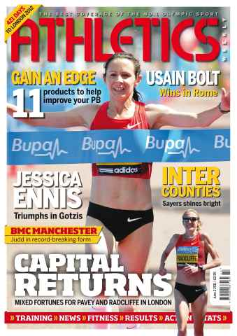 Athletics Weekly issue AW June 2 2011