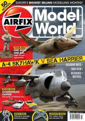 Airfix Model World issue July 2012