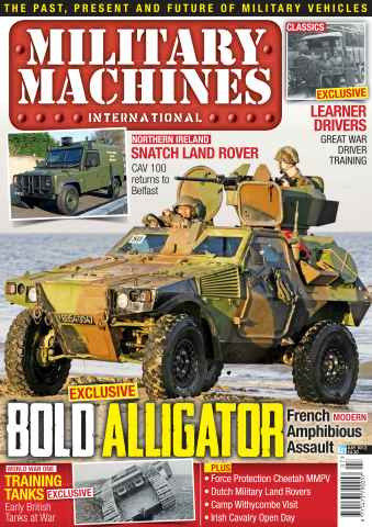 Military Machines International issue July 2012