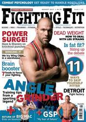 Fighting Fit issue August 2010