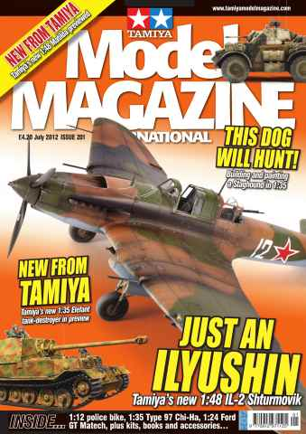 Tamiya Model Magazine issue 201