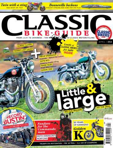 Classic Bike Guide issue April 2012