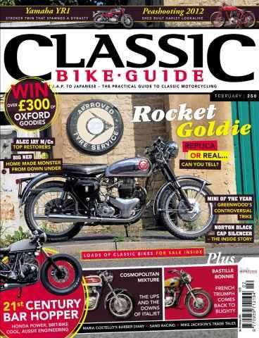 Classic Bike Guide issue February 2012