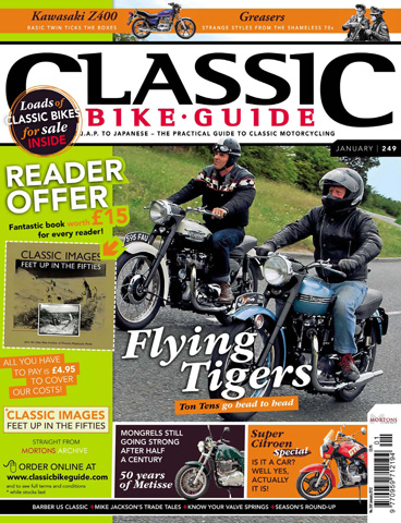 Classic Bike Guide issue January 2012