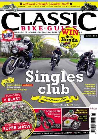 Classic Bike Guide issue June 2012