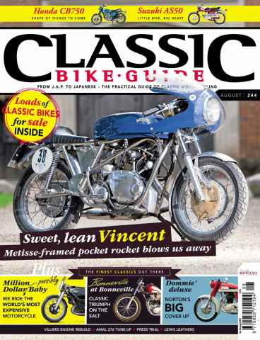 Classic Bike Guide issue August 2011