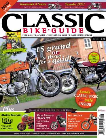 Classic Bike Guide issue June 2011