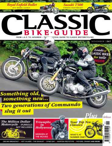 Classic Bike Guide issue November 2011