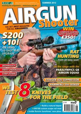 Airgun Shooter issue Summer 2012