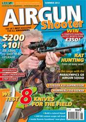 Airgun Shooter issue Summer 2012