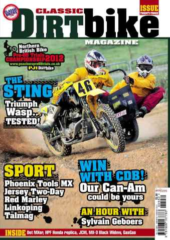 Classic Dirt Bike issue Classic Dirt Bike Issue #23