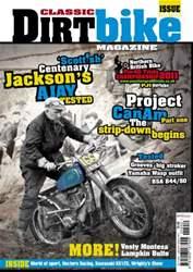 Classic Dirt Bike issue Classic Dirt Bike Issue #19