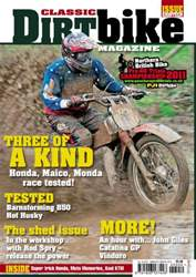 Classic Dirt Bike issue Classic Dirt Bike Issue #18