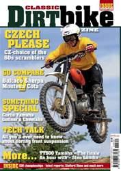Classic Dirt Bike issue Classic Dirt Bike Issue #17