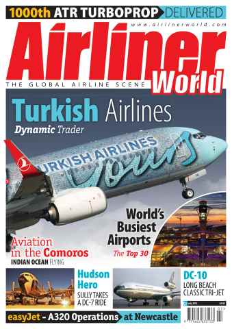 Airliner World issue July 2012