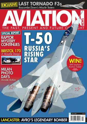 Aviation News issue July 2012