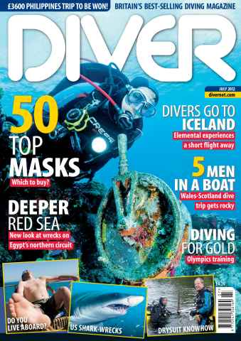 DIVER issue July 2012