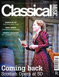 Classical Music issue Classical Music 16 June 2012