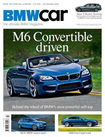 BMW Car issue July 2012