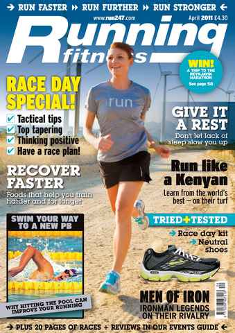 Running Fitness issue Race Day Tactics April 2011