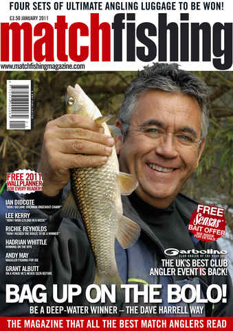 Match Fishing issue January 2011