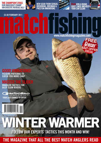 Match Fishing issue February 2011