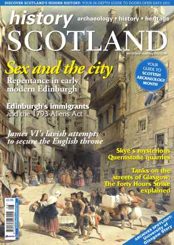 History Scotland issue July-August 2012
