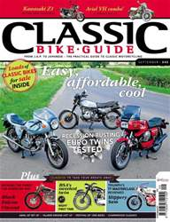 Classic Bike Guide issue September 2011