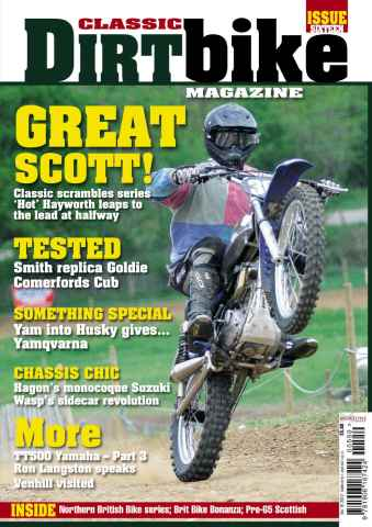 Classic Dirt Bike issue Classic Dirt Bike Issue #16