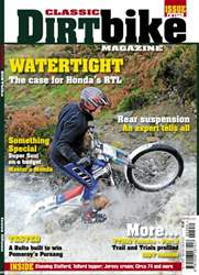 Classic Dirt Bike issue Classic Dirt Bike Issue #15