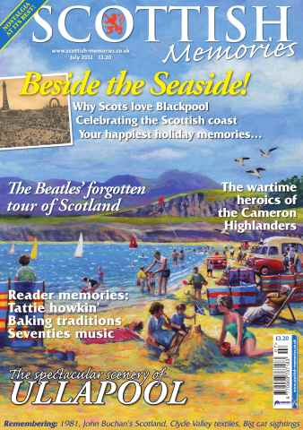 Scottish Memories issue July 2012