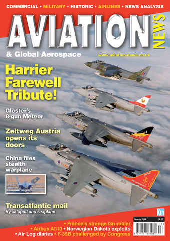 Aviation News issue March 2011