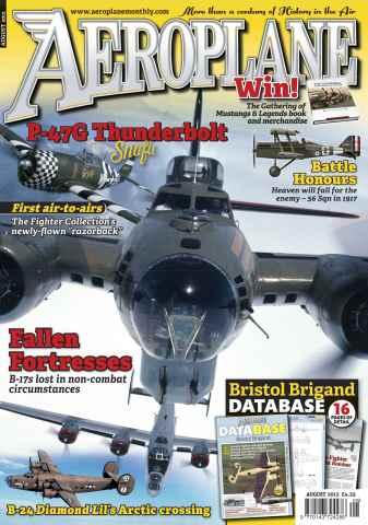 Aeroplane issue No.472 Thunderbolt