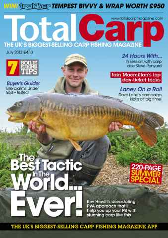 Total Carp issue July 2012