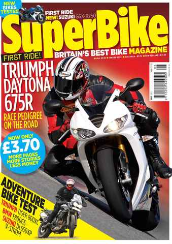 Superbike Magazine issue May 2011