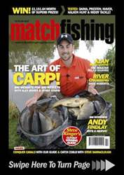 Match Fishing issue July 2012
