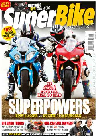 Superbike Magazine issue Summer 2012